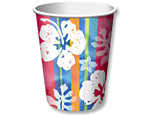 Luau 9 oz. Party Cups