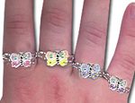 Butterfly Metal Rings- Assorted