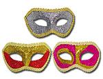 Glitter Half Mask