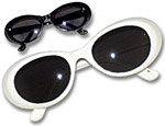 Black & White Retro Glasses