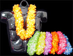 Large Silk Flower Leis