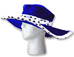 Blue Show Daddy Hat