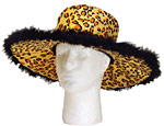 Leopard Big Daddy Hat