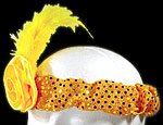 Gold Roaring 20's Sequin Headband