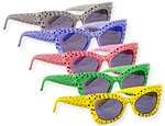Polka Dot Glasses Assorted Colors