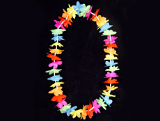 4funparties 36 rainbow silk flower leis 36 inch rainbow silk flower leis mightylinksfo