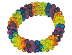 Rainbow Bead Bracelets