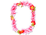 Luau Party Ideas: Pastel Pink Leis!