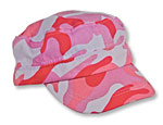 Pink Camouflage Army Hat