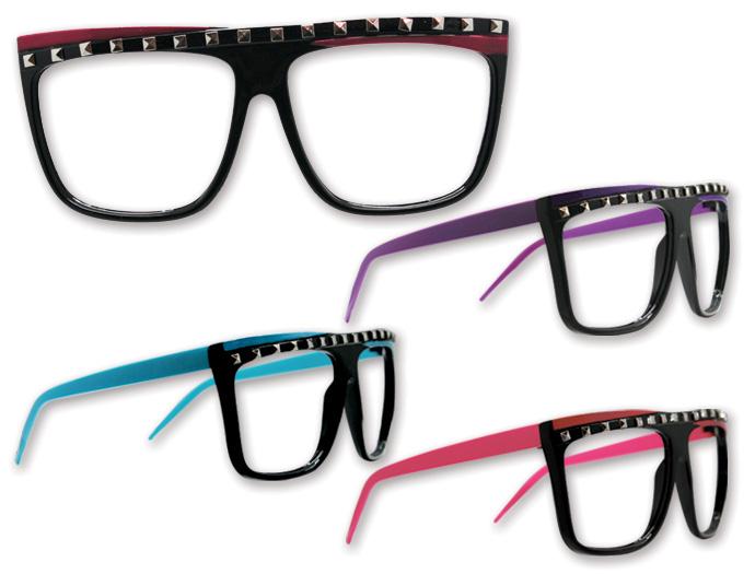 Eyeglass Frames No Lenses : 4FunParties.com - Rock Glasses - No lenses