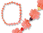 Flower Leis with Hearts