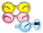 Assortment Color Sequin Sunglasses