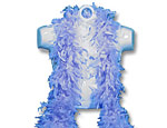 Super Deluxe Blue Feather Boa