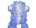 Super Deluxe Blue Feather Boa