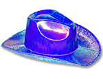 Metallic Blue Cowboy Hat
