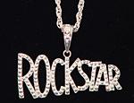 Silver Rockstar Bling