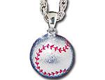 Silver Baseball Bling