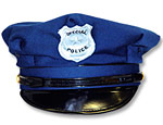 Blue Cloth Police Hat