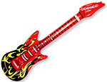 42 inch Inflatable Flame Guitars