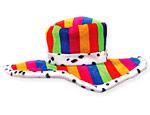 Rainbow Show Daddy Hat