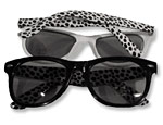 Animal Print Blues Brothers Glasses