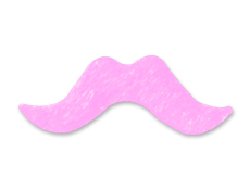 Pink Mustaches