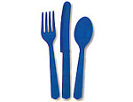 Blue Cutlery Pack