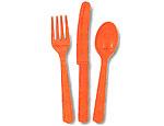 Orange Cutlery Pack