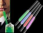 Bag of Green Glow Straws