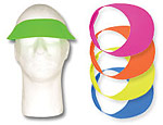 Foam Visors Assorted Colors