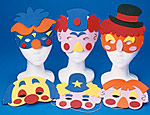 Clown Foam Masks