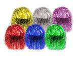Assorted Mylar Wigs