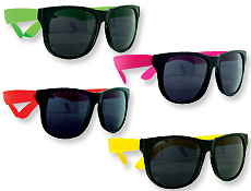 4FunParties Assorted Neon Sunglasses #1: WP22 2T