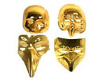 Four Gold Masks