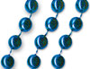 33 inch Blue Bead Necklaces