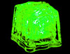 Green LED Ice Cubes