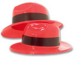 Red Gangster Hats