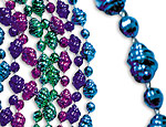 Assorted Metallic Shell Beads