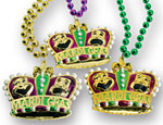Mardi Gras Crown Beads