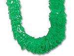Green Plastic Leis