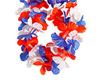 LED Patriotic Lei