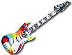 Tie Dye Guitar Inflatables