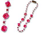 Blinking Dice Beads