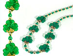 Blinking Shamrock Beads