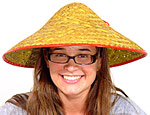 Yellow Oriental Hat