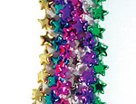 Metallic Star Beads Assortment