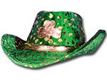 Shamrock Cowboy Hat