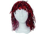 Red Foil Wig