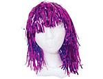 Purple Foil Wig