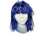 Blue Foil Wig